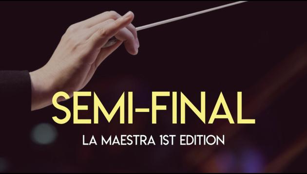La Maestra - Demi-finales du concours international de cheffes d'orchestre