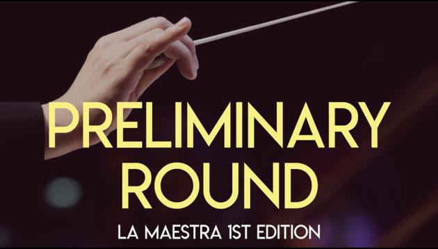 La Maestra - Epreuve éliminatoire du concours international de cheffes d'orchestre