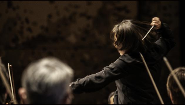 La Maestra - Répétition générale de la finale du concours international de cheffes d'orchestre